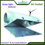 hydroponics 8inch air cooled plants grow light reflector-8'' XL air cooled reflector