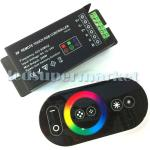 RF Remote Touch RGB Controller DC12-24V Controlling any LED RGB product-FRP- DC12-24V