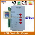 Hot selling Max 2048 points Programmable sd card led controller T-1000S-JM-T-1000S