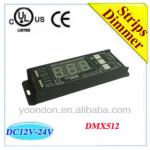 3-channel*6A Constant Voltage LED DMX512 Decoder-D8008
