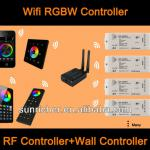 RGBW Wifi Controlled Light Switch for IOS &Android Smartphone-SR-2818Witr