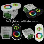 DC12v/24v RF wireless touch rgb tape controller with remote-FUT42