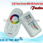 12/24V RF wireless Touch screen RGB remote control for led strips, led touch remote controller-FUT-25,FUT25