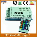 Sound actived IR remote led music controller audio controller for led-JM-music-01