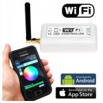 LED Wi-Fi Mono Mini Controller, Andriod and IOS iPhone WiFi LED RGB Controller-WiFi LED Controller