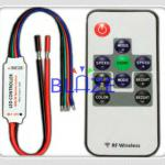 RGB Wireless RF Remote Control for 5050 3528 led strip-