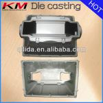 Led lamp housing/lamp cover fixture in aluminum pressure casting with powder coating-KM-DC-863