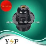 e27 black bakelite screw shell lamp socket-YF E27