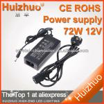 72W 12V switching mode power supply, Power adapter with AC100-240V input 12v output-SL-PL-72W