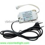 1-6W 12V LED MR16 Lamp Holder-12V DC Power Supply