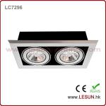 Easy to instal 9W*2 AR111 cob led downlight for furniture LC7296-LC7296