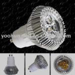 high power gu10 led lamp cup 3*1w-YH-GU10S3X1W-06