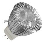 MD-MR11-3X1W GU4.0 Base 3X1W 3W MR11 LED Spot Lamp Cup-MD-MR11-3X1W