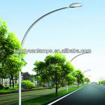 HY 9m street pole(poste de la calle,Strabe Pol) HDG with coating with one arm with CE for road lighting-street pole