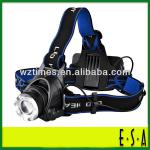 2014 Detonation model T6 can zoom head lamp, LED high-power headlights; CREE LED rechargeable headlights LD30707-LD30707