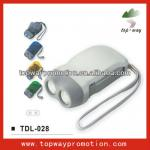 Hot sell promotion dynamo flashlight-TDL-028