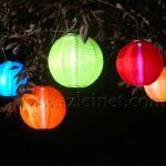 2012 New Products 600MAH 0.4W Canvas Led Solar Lanterns-FCY001B