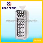 28+6LED Solar 6V 4.5AH BATTERY LED EMERGENCY LIGHT-EP-6198 6V 4.5AH led  emergency light,EP-6198