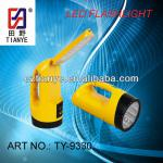 Rechargeable 12+18 LED Torch + Table Light-TY-9330