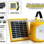 high performance portable solar lamp with mobile phone charger-SF-2