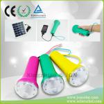 New style super bright with mobile charging led solar torch flashlight-JCN-D10A
