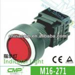 16mm Light Switch with LED indicator /LED Lighted Illumination-M16-271