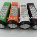 Multi-purpose rechargeable JK-916-1LED torch light with 1+12 LED lamp beads-JK-916-1LED torch light