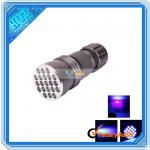 Hot Selling! 21LED Ultraviolet UV Flashlight Lamp Torch (T00449)-T00449