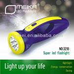 emergency led regarchable torch light flashlight-OMK-3218