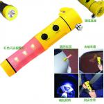 5-in-1 rescue Emergency Hammer Beacon LED Torch-023