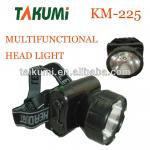 new rechargeable plastic led headlamp-KM-225