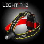 3W Cree high power waterproof ANSI LED headlamp-H2