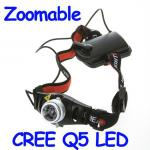 500 Lumen CREE Q5 Headlamp LED-HL-3