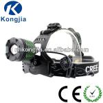 10 Watt Cree T6 Led Aluminum Headlamp with rechargeable Battery-KJ-C9005