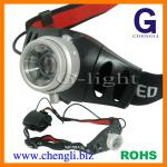 "120lumens CREE 3W LED Zoomable head light with 3pcs 1.5V ""AAA"" size battery ( LA276A )-LA276A"