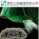 5 LED Cap Hat Clip On Lamp Working Light Camping Hiking Safety Bike Headlamp-XT-EC035