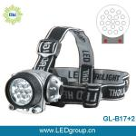 17white +2red powerful led headlight-led headlight GL-B17+2