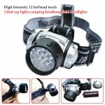 High Intensity outdoor 12 led head torch 12 LED cap lights camping LED Headlamp field LED Headlight-DIGI0027-LED Headlamp