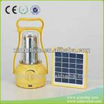 35pcs led 2W panel high capacity solar lantern with mobile phone charger-SEL03
