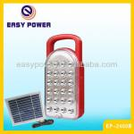 rechargeable 24 led solar emergency circuit board led lantern-EP-2400BS 24 led solar rechargeable led lantern