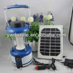2013 high power led camping lantern with solar panel for hunters and campers-SD-2279
