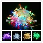 CE 10M 100L led Christmas light of transparent wire-SL001A1