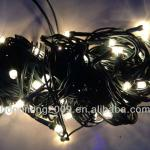warm white green wire rice light, decovative light, christmas light-