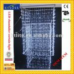 Chandalier LED curtain light of white color-CCL