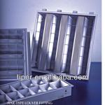 T8 fluorescent led louver fitting-GSD.F.I