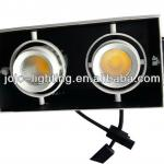 Low Price Recessed COB 2 x 10W LED Grille Spot Light with CE/ROHS-JL302S-LED