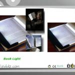 Plastic Foldable LED Book Light With Clip-CS-B-A4