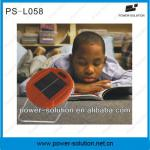 LED solar powered reading light with 2 brightness-PS-L058