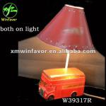 polyresin two function car kids led lamp design in table lamps-W39317