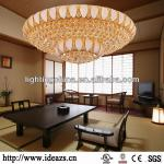 2013 Morden lobby decoration crystal ceiling lamps D67199-D67199